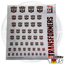 Transformers Accessories - Metallic Sticker / Decals for Autobot (Logo / Symbol)