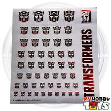 Transformers Accessories - Metallic Sticker / Decals for Autobot (Logo / Symbol)