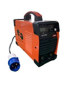 Uptime® 200AMP MMA/ARC INVERTER WELDER WITH LED DISPLAY + ACCESSORIES -200AMP