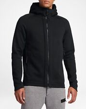 2017 NIKE SPORTSWEAR TECH FLEECE Men's Full-Zip Hoodie 832112-010 Black Size M