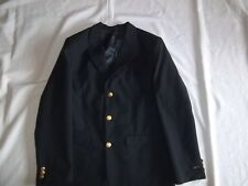 Boys CLAIBORNE Navy 15% Wool BLAZER JACKET Size 16 R Regular Dressy Suit Coat