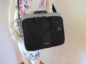 ♥ Rimowa ♥ Lufthansa Bolero Collection Polycarbonat Laptoptasche schwarz grau