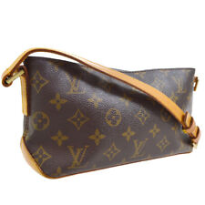 AUTH LOUIS VUITTON TROTTEUR CROSS BODY SHOULDER BAG MONOGRAM ue M51240 30223
