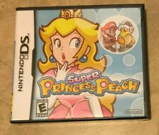 Super Princess Peach Nintendo DS NEW Factory Sealed Authentic USA Version