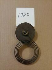 Antique Ingraham Mantle Clock Coil Strike Gong Steampunk