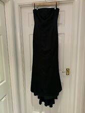 BNWT Elements By Amanda Wakeley Strapless Satin Size 14 Evening Gown