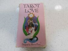 Vintage TAROT OF LOVE 1991 Cards Deck 1st Ed VERY RARE Marcia Perry Switzerland