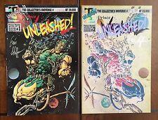 "1993 Triumphant Comics, ""Prince Vandal"" issues # 1 & 2, signed, Nm/M."