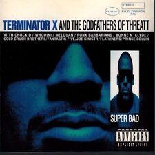 TERMINATOR X & the Godfathers of Threatt - Super Bad [PA] (CD 1994)