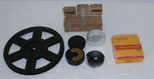 lot KODAK chargeur super 8/film 9,5mm/bobine ciné-kodak 8 + colleuse film bois