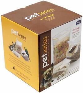 LOCK & LOCK Pet Series BPA Free Pet Food Container Set, 6-Piece
