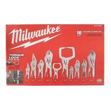 Milwaukee Torque Lock Locking Pliers Kit (10-Piece) 48-22-3690