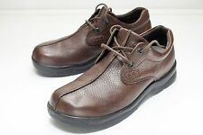 aetrex 10.5 Brown Lace Up Oxford Men's Casual Walker