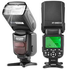 K&F Concept KF590N Flash Speedlite TTL GN56+i-TTL Wireless for Nikon Camera