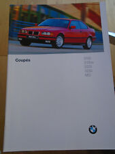 BMW 3 Series Coupe range brochure 1996 Ed 2