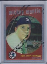 MICKEY MANTLE 1996 Topps Mantle Finest #9 (1959 Topps)  (B7182)