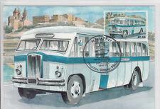 Maxi Card Malta Buses Bus - The end of an Era - Thornycroft Sturdy ZE