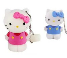 Brand New Cute Mini Hello Kitty 8gb Novelty Usb Keyring Key Chain Memory Stick