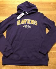 Baltimore Ravens Youth Hoodie Large Nwt Sewn See Description For Measurements