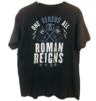 ADULT WWE ROMAN REIGNS T SHIRT WRESTLING TEE RIPPLE JUNCTION THE SHIELD XL