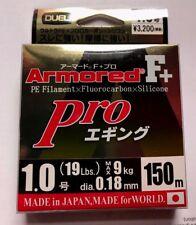 DUEL ARMORED F+  Pro  EGI/SQUID  150m #1.0 Max 9.0kg