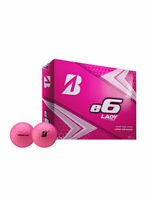 Bridgestone e6 Lady Golf Balls - 1 Dozen Pink -  Ladies