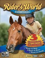 Rider's World Competition 3 PC Games IN BOX I want to Ride Race Jump