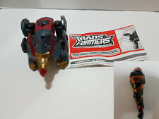 Snarl Transformers Animated Slag Painted Club Variant Complete w/Instructions