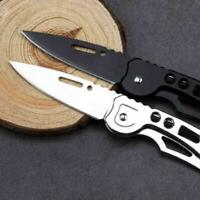 EDC Outdoor Survival Tool Camping Fishing Folding Pocket-Rescue-Clip-Knif Money