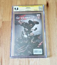 X-Force #1 CGC 9.8 SS Craig Kyle Signed Bloody Clayton Crain Variant 2008