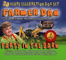 Farmer Dan - Party In The Barn - New 2 CD Box Set