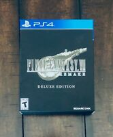 Final Fantasy VII 7 Remake Deluxe Edition Box Case ONLY! (No Game!) Square Enix