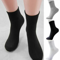 5 Pairs Men's Socks Winter Casual Soft Cotton Blend socks Sock Breathable S T5F8