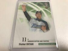 """HOT"" Shohei OHTANI BBM 2013 Rookie card ""Card Shop limited edition"" 0417-3"