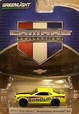 YELLOW 2011 CHEVROLET CAMARO SS GREENLIGHT 1:64 SCALE DIECAST METAL MODEL CAR