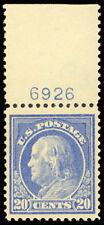 419 XF OG NH Plate # Copy! - Post Office Fresh! Premium Stamp! - Stuart Katz