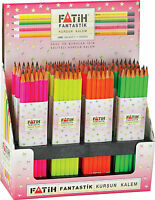 Box of 144 HB Pencils. Superb Quality. 4 Colours. School Office Drawing.