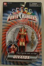 "Power Rangers 5"" Turbo Divatox Pirate Queen Cape Action Includes Space Alien"