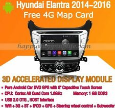 Android Multimedia Player for Hyundai Elantra 2014-2016 DVD GPS Navigaiton Radio