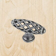 "Cabinet Hardware Bird Cage Knobs kL49 Swedish Iron 2-5/16"""