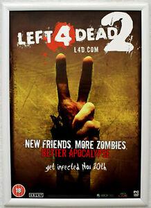Left 4 Dead 2 RARE PC 42cm x 59cm Promotional Poster