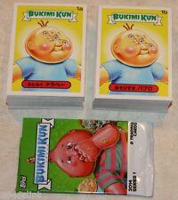 GARBAGE PAIL KIDS SERIES BUKIMI KUN COMPLETE SET 132 CARDS RARE JAPENESE GPK