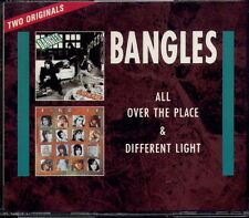 BANGLES - ALL OVER THE PLACE + DIFFERENT LIGHT (2 CDs)