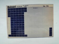 Yamaha dt 125_r_1994 microfilm microfich catálogo de piezas de repuesto de lista