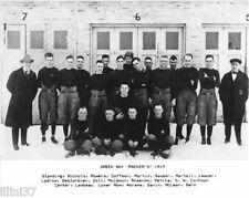 1919 GREEN BAY PACKERS FIRST INAUGURAL FOOTBALL TEAM 8X10 PHOTO
