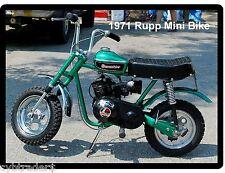 1971 Rupp Scrambler Mini Bike  Refrigerator / Tool  Magnet