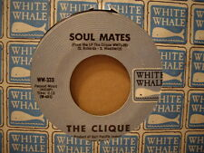 The Clique - Almas Gemelas / i ' Ll Hold Out My Hand Blanco Whale 333-45 Rpm