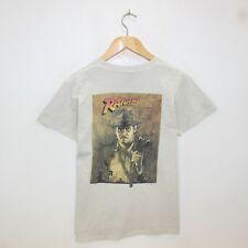Vintage Indiana Jones Raiders of The Lost Ark Oneita T-Shirt Size Small