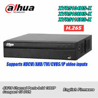 English Dahua XVR XVR5104/5108/5116HS-X 4/8/16 Ch Penta-brid 1080P 1U DVR