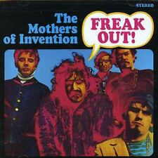 FRANK ZAPPA/The Mothers of Invention Freak Out! (CD, 1995, Rykodisc) SEALED